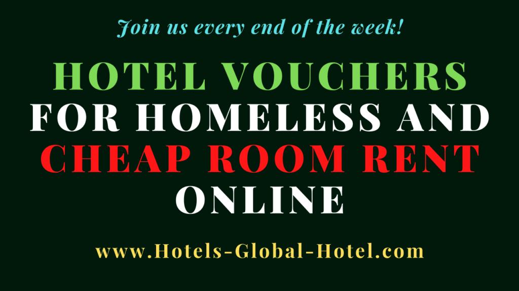 Hotel Vouchers for Homeless