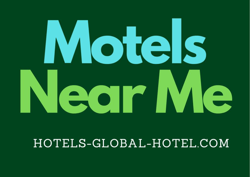 Motel near me